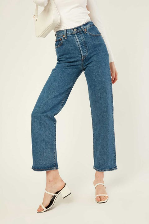 LEVI'S Ribcage Straight Ankle Georgie
