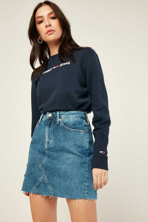TOMMY JEANS Short Denim Skirt Save 20 Mid