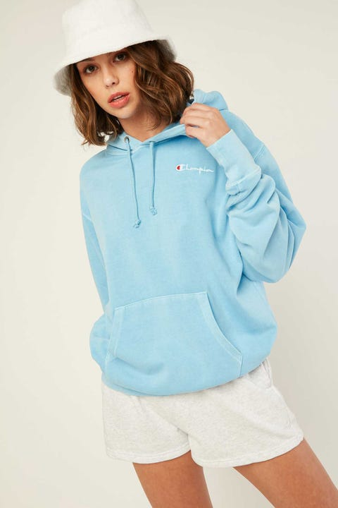 Champion Vintage Dye Pullover Candid Blue