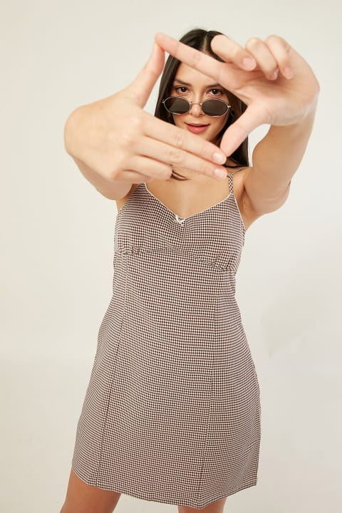 THRILLS Polly Dress Teak