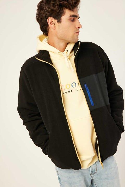 BARNEY COOLS B.Quick Polarfleece Jacket Black