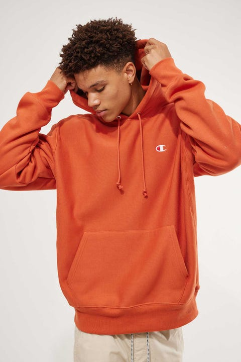 Champion Reverse Weave Hoodie Ambitious Orange