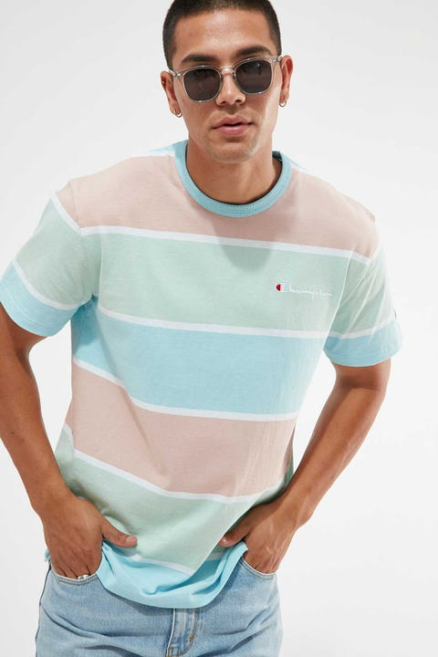 Champion Heritage Tee Yarn Dyed Stripe Culture Surf Stripe