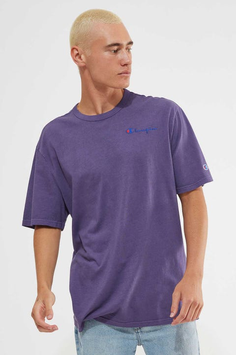 Champion Vintage Dye Tee Purple Pebble