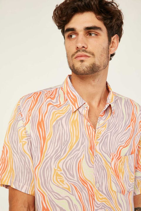 BARNEY COOLS Holiday SS Shirt Boho Flow