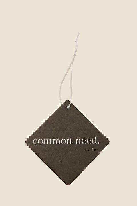 COMMON NEED Cafe Car Freshener Coffee