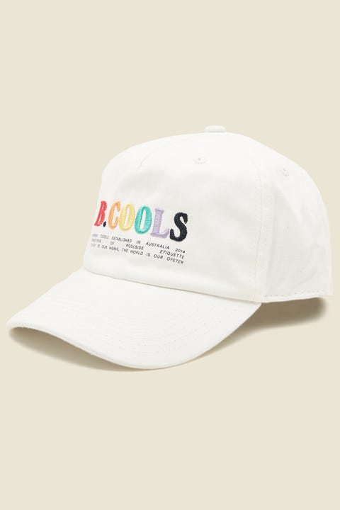 BARNEY COOLS B Bold 5 Panel White