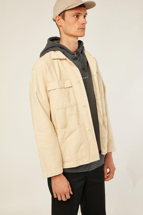 THRILLS Work Shop Jacket Thrift White