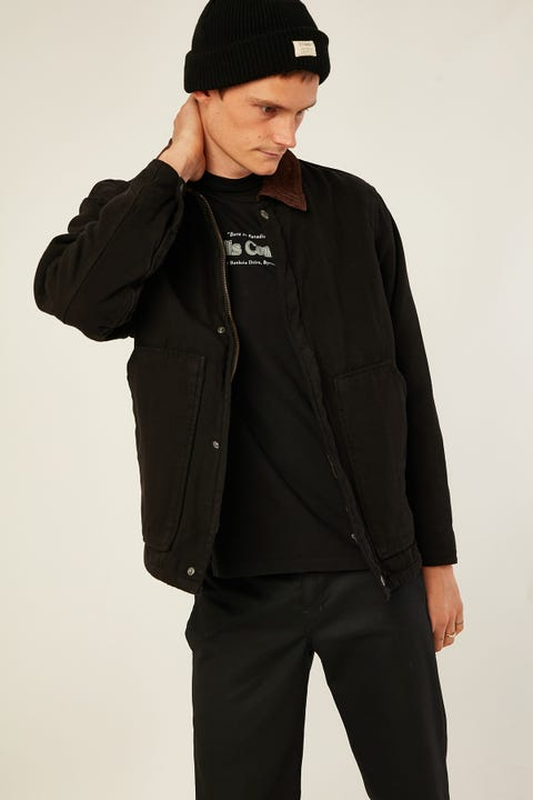 THRILLS Carpenter Jacket Black