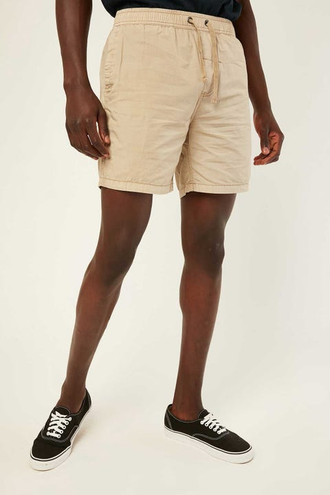 Thrills Minimal Thrills Volley Oxford Tan