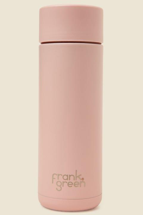 FRANK GREEN Ceramic Reusable Bottle 20oz Blushed