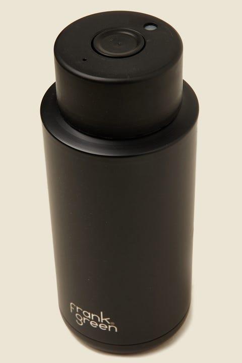 FRANK GREEN Ceramic Reusable Bottle 34oz Black