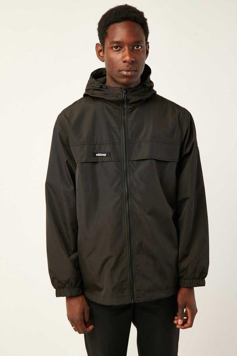 Stussy Stussy Italic Zip Thru Jacket Black