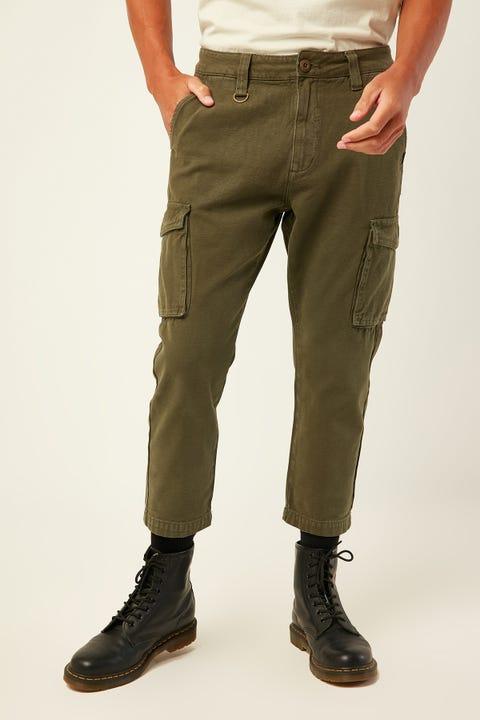 THRILLS Legion Cargo Pant Army Green