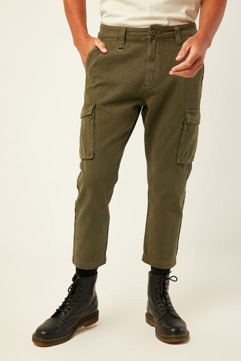 THRILLS Legion Cargo Pant Army Green