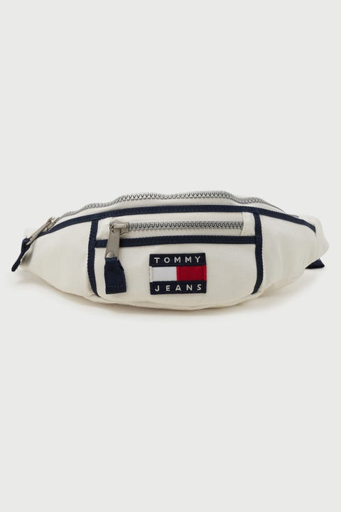 Tommy Jeans Heritage Canvas Bumbag White