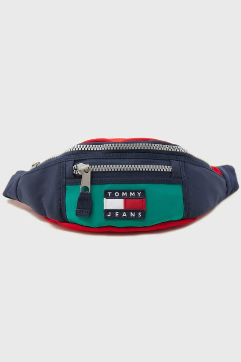 Tommy Jeans Heritage Bumbag Midwest Green