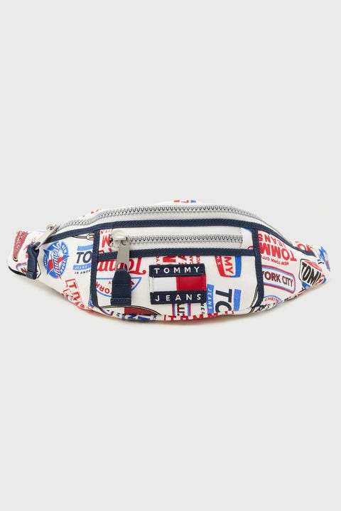 Tommy Jeans Heritage Bumbag Logo Print