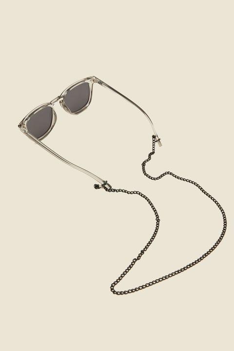 COMMON NEED Sunglasses Chain Matte Black
