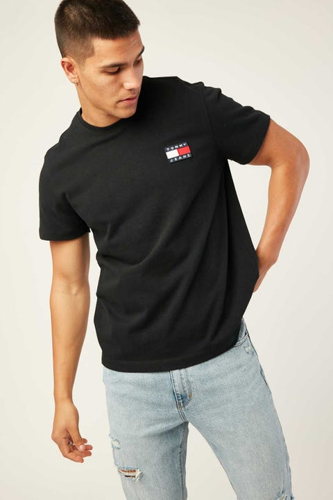 TOMMY JEANS TJM Tommy Badge Tee Black