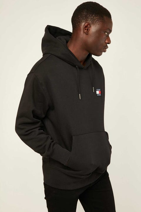 Tommy Jeans TJM Tommy Badge Hoodie Black