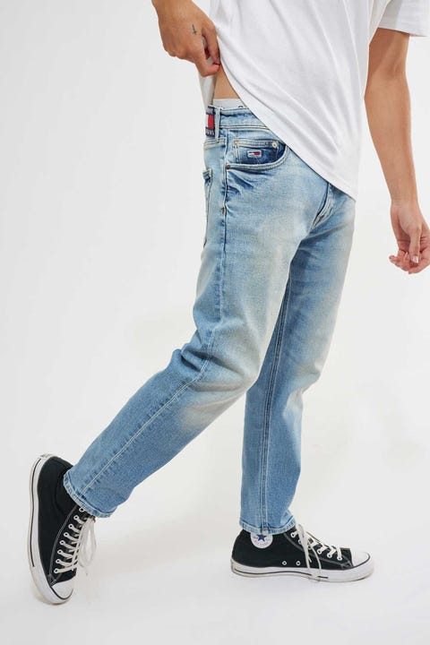 Tommy Jeans Dad Jean Straight Jean Barton Light Blue Comfort