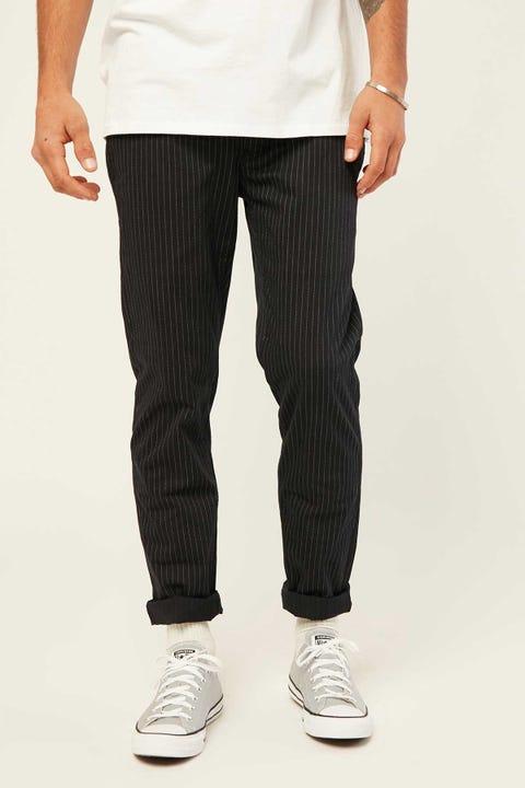 BARNEY COOLS B.Slim Elastic Pant Navy Stripe