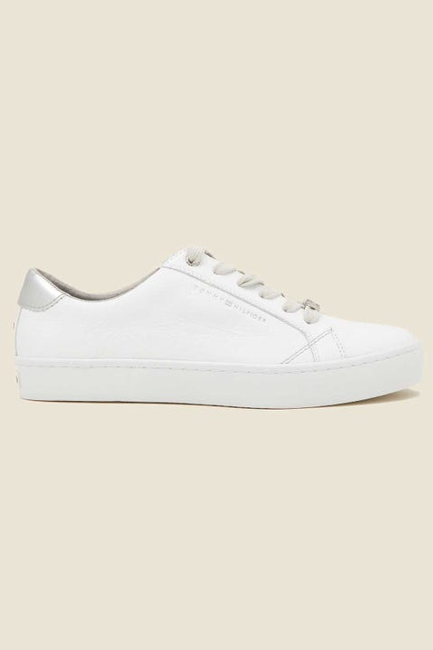 Tommy Jeans Womens Casual Tommy Hilfiger Sneaker WHT