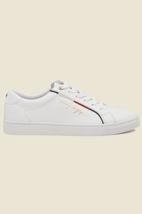 TOMMY JEANS Tommy Hilfiger Signature Sneaker White