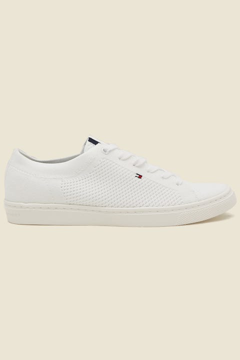 Tommy Jeans Womens Lightweight Casual Sneaker White