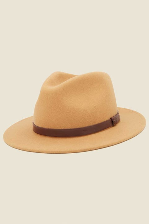 BRIXTON Messer Fedora Honey