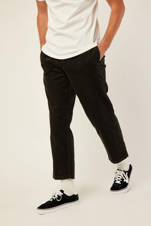 BRIXTON Steady Taper Elastic WB Pant Washed Black