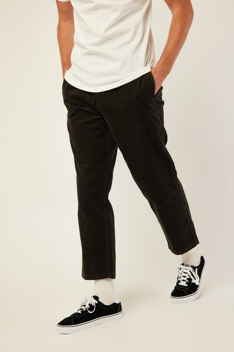 BRIXTON Steady Taper Elastic WB Pant Washed Black