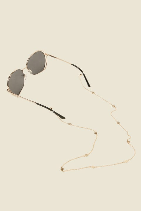 TOKEN Daisy Chain Glasses Chain Gold