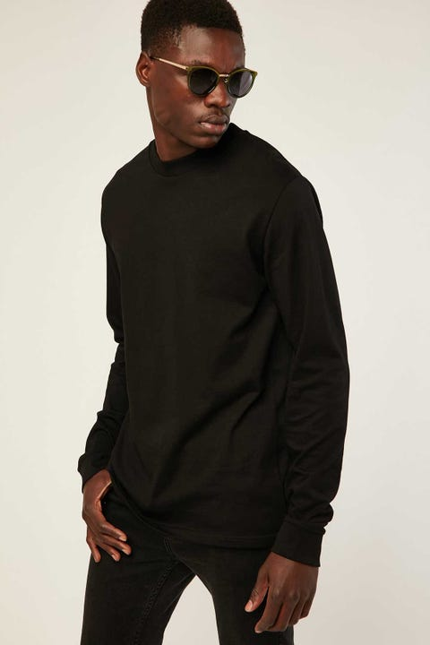 AS COLOUR General LS Tee Black
