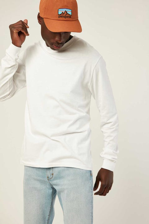 AS COLOUR General LS Tee White