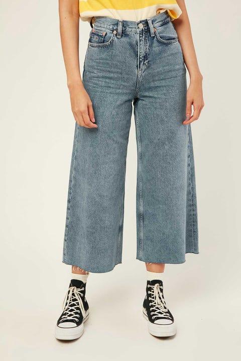 Tommy Jeans Meg MR Wide Leg Ankle Jean Marcia Mid