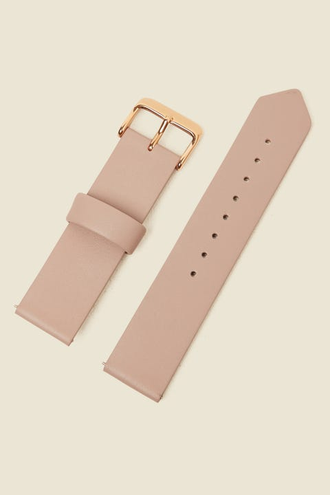 THE HORSE Original Watch Band Blush Leather