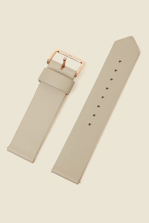 THE HORSE Original Watch Band Grey Leather