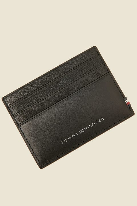 TOMMY JEANS Textured CC Holder Black