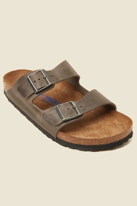 BIRKENSTOCK Arizona NU SFB Narrow Oiled Iron