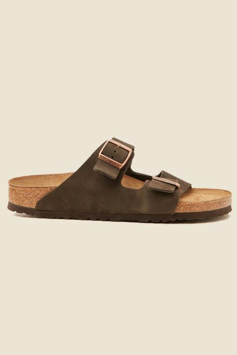 BIRKENSTOCK Mens Arizona VL SFB Narrow Mocca