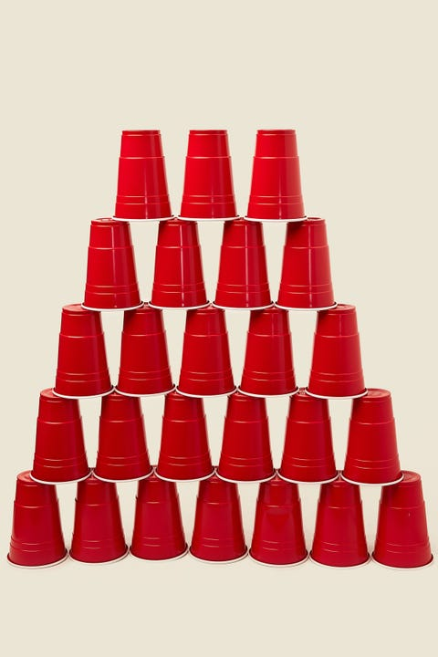 REDDS Cups Red Cups 25 Pack