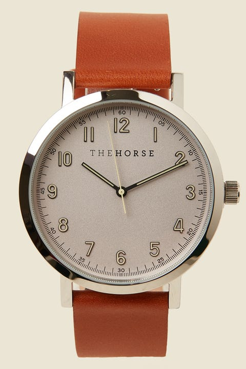 THE HORSE The Original 2.0 Polished Silver/Off-White/Tan