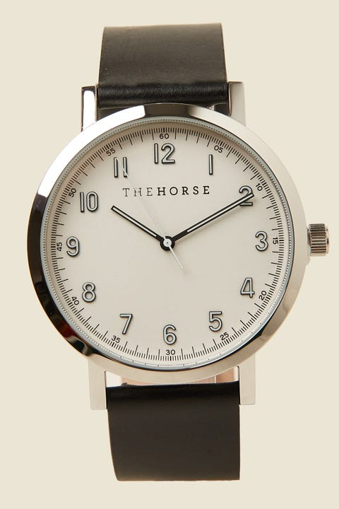 THE HORSE The Original 2.0 Polished Silver/Off-White/Black