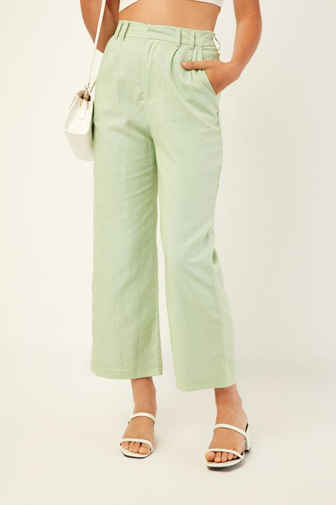 PERFECT STRANGER Slow Motion Pant Green