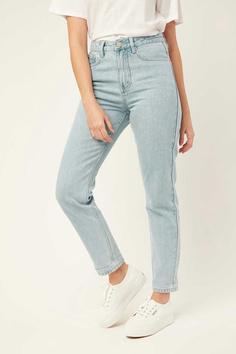 ASSEMBLY High Waist Rigid Jean Pacific Blue