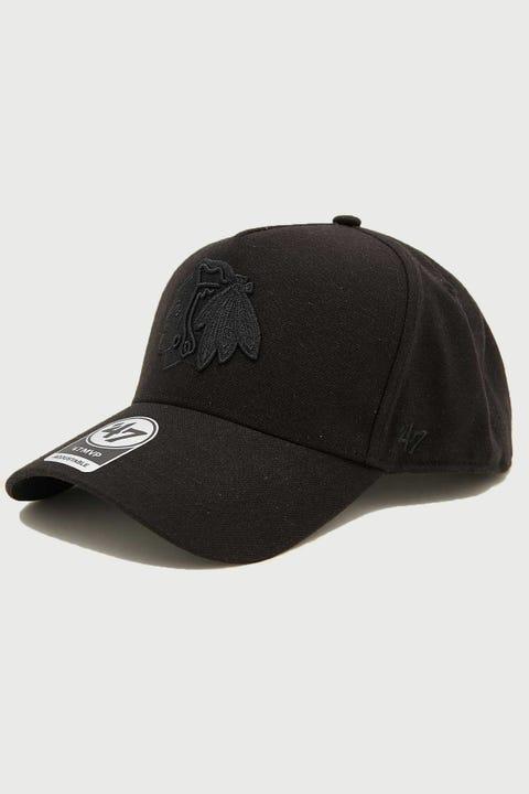 47 Brand MVP DT Snapback Chicago Blackhawks Black/Black