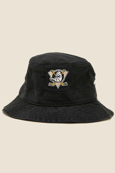 47 Brand Bucket Hat Anaheim Ducks Black