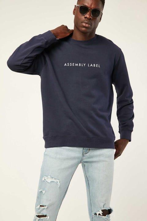 ASSEMBLY Logo Fleece Indigo